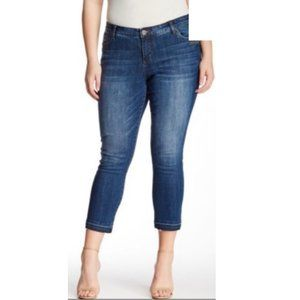 Kut from the Kloth Cropped Medium Wash Jeans Sz. 8